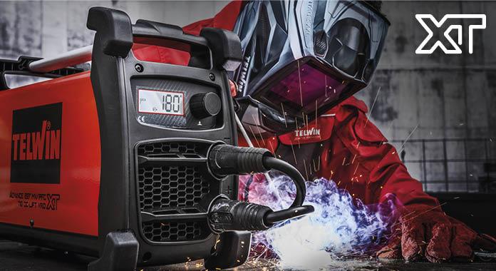 Серия XT – это новая линия сварочных аппаратов Telwin с «эXTремальным» характером.