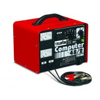 Зарядное устройство TELWIN COMPUTER 48/2 PROF 230V 6--48V 807063